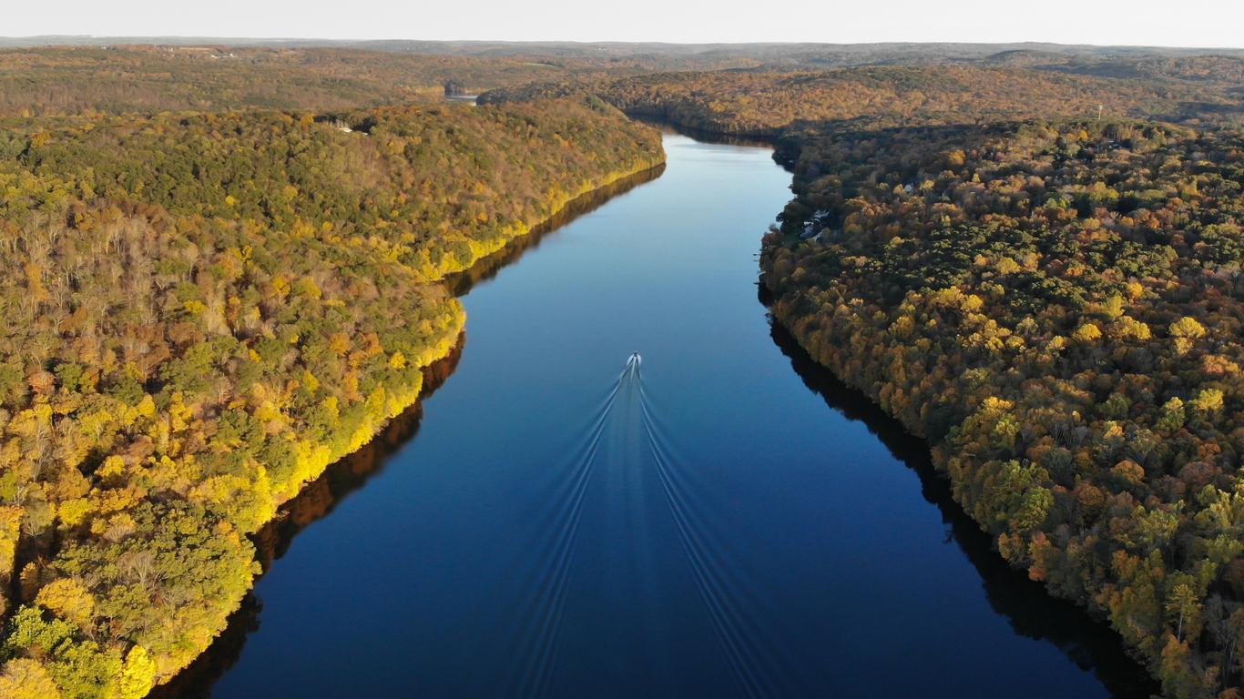 Fall Boating