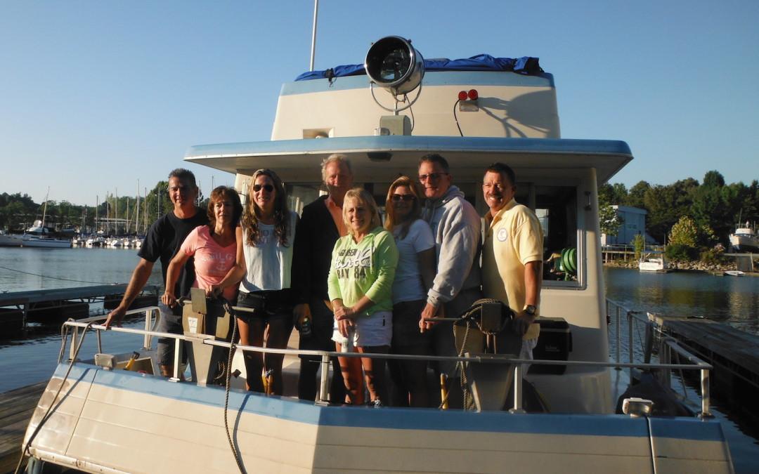 'Thru-Boating' the Mississippi River