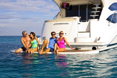 Happy fractional boat owners