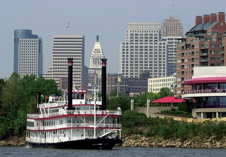BB Riverboats on Ohio River