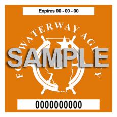 Sticker da Fox Waterway