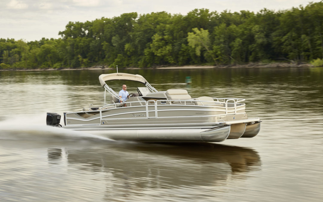 Premier Marine Introduces Pontoon Overnighter