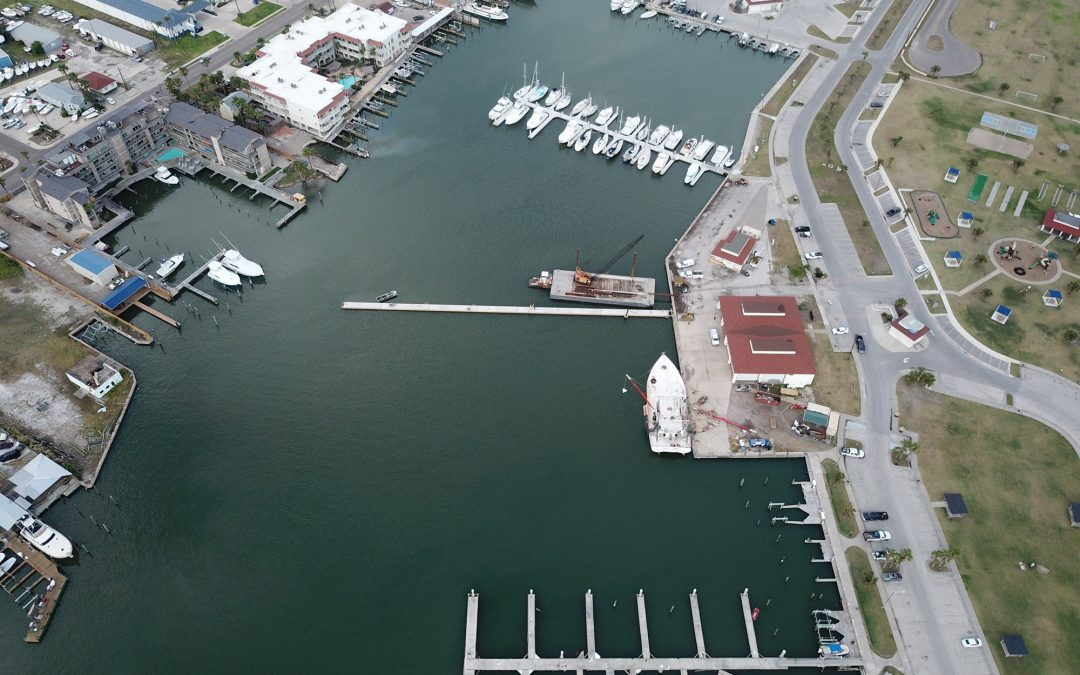 Post-Hurricane Renovations at Two Port Aransas Marinas