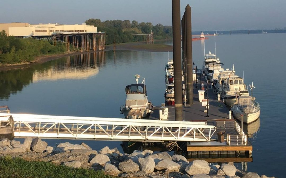 Paducah Receives Boaters' Choice Award for Transient Boat Dock