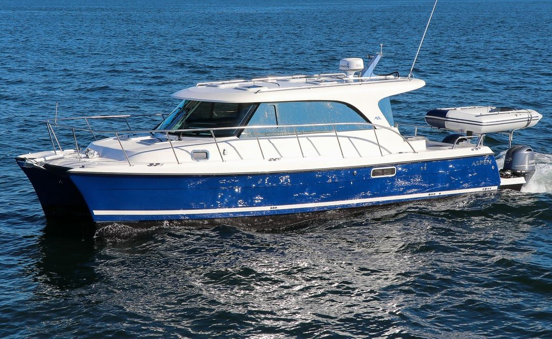 Aspen Power Catamarans launches the new C108